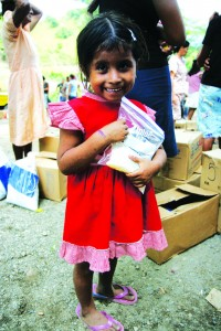 Cross Catholic and our benefactors help Pastor Vargas feed 22,000 needy children in rural communities in Guatemala.