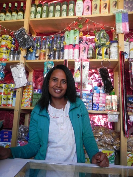 Cross Catholic Outreach's support of Bruh Tesfa Women's Outreach in Adrigat, Ethiopia is helping abused single-mothers like Senait Welay start their own businesses and become self-sufficient.