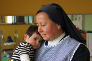 St. Vincent de Paul Orphanage in Ecuador rescues abandoned babies and provides around-the-clock care.